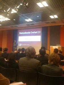 foto van plenaire zaal werkconferentie overheid 2.0 in 2008