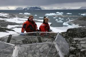 Willem-Alexander en Maxima op Antarctica