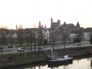 Maastricht vanaf de Hoeg Brogk