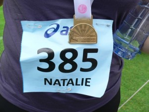medaille Ladiesrun