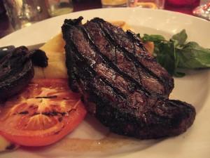 doorbakken biefstuk