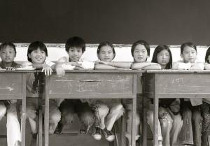 klas met kinderen