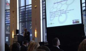 dagvoorzitter Gerard van Oortmerssen spreekt op Nationaal Innovatieforum Veilige Samenleving 2.0