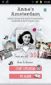 Annes Amsterdam-app