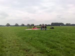 Paragliding in Langerak