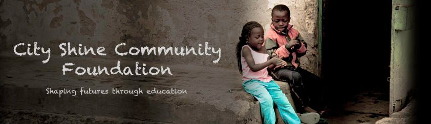 banner van City Shine Community Foundation