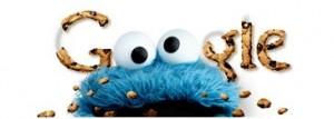logo Google met koekiemonster