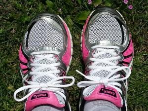 mijn hardloopschoenen