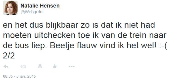 Tweet NS 2