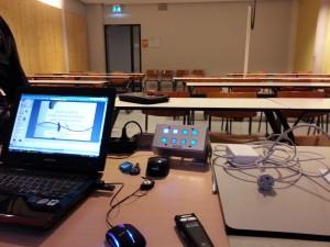 Collegezaal Universiteit Twente
