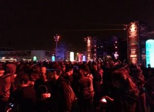 het feest van de Electric Run