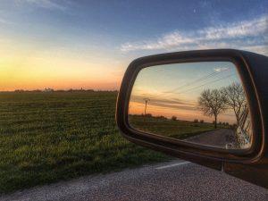 achteruitkijkspiegel auto