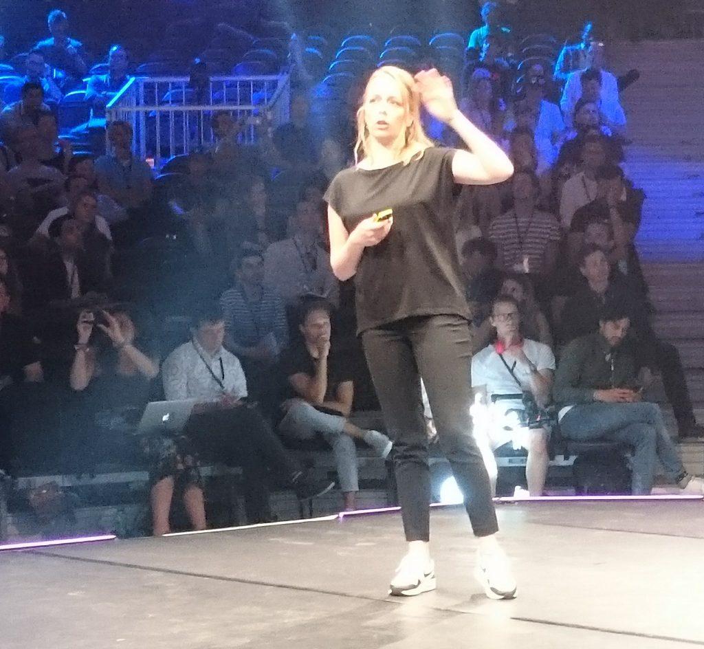 Alix Rubsaam op The Next Web 2018