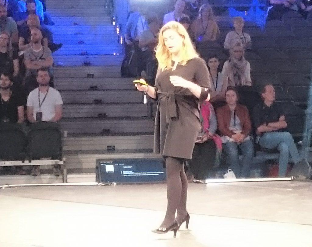 Camille Francois op The Next Web 2018