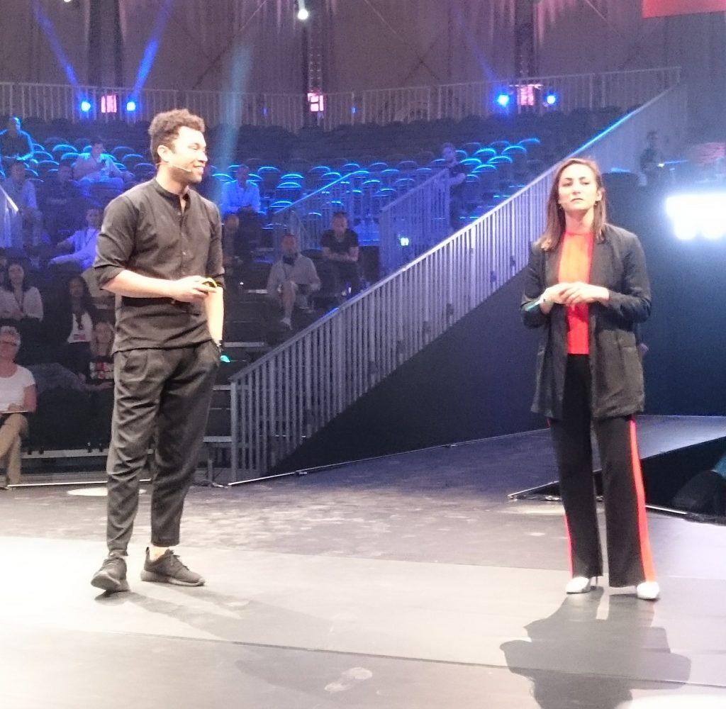 Kodi Foster en Sashka Rothchild op The Next Web 2018
