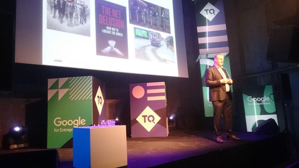 Sander Klous op The Next Web 2018