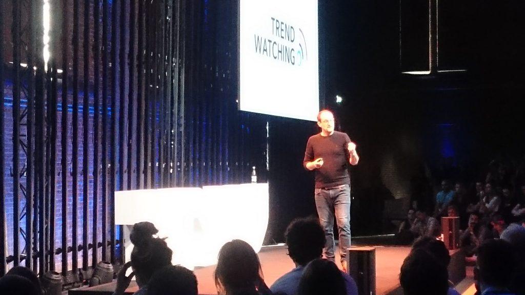 David Mattin op The Next Web Conference 2018