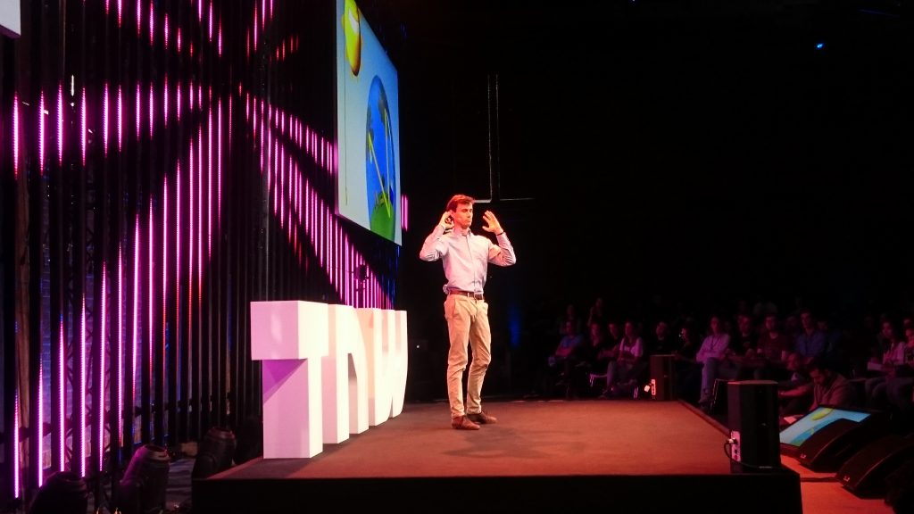 Lex Hoefsloot op The Next Web Conference 2018