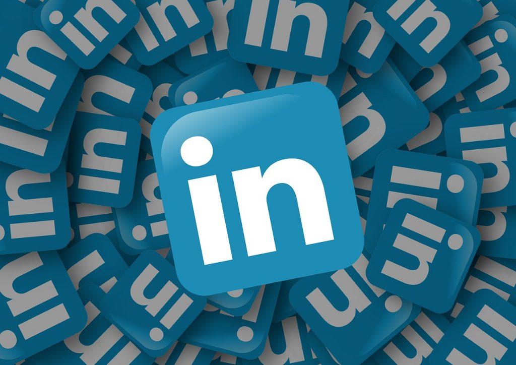 linkedin logo's
